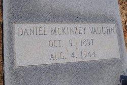"""Daniel McKinzey """"Mack"""" Vaughn"""