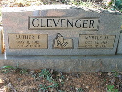 Luther F Clevenger