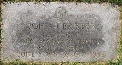 PFC John I Barber