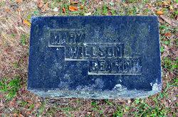 Mary <I>Wilson</I> Dearing