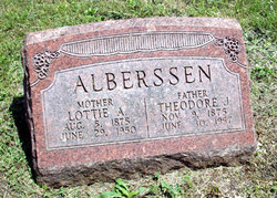 Lottie Ann <I>Scherer</I> Alberssen