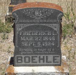 Friederich Ludwig Boehle