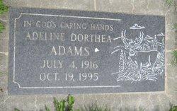 Adeline D Adams
