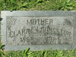 Clara E <I>Bolton</I> Livingston