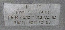 """Tillie """"Tauba"""" <I>Kutten</I> Rubin"""