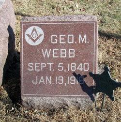 George M Webb