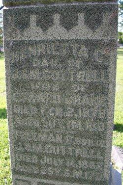 Henrietta <I>Cottrell</I> Crane