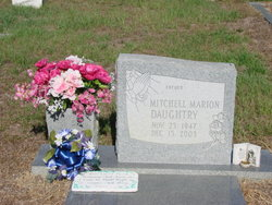"""Mitchell Marion """"Mickey"""" Daughtry"""