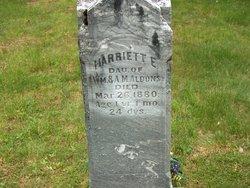 Harriett E Aldous