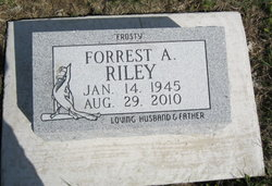 "Forrest A. ""Frosty"" Riley"