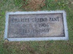 Charles Greene Fant