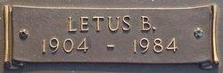 Letus B. Ashcraft