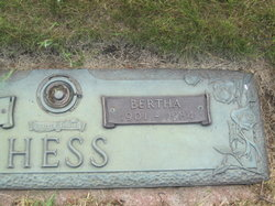 Bertha <I>Raebel</I> Hess