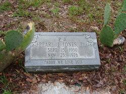 "Pearl J ""P.J."" Jones, Jr"