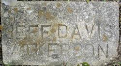 Jefferson Davis Atkerson, III