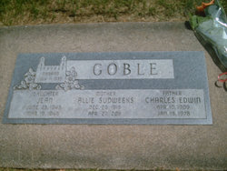Charles Edwin Goble