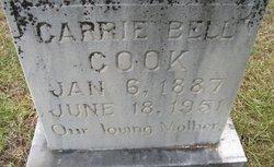 Carrie Bell <I>Cutler</I> Cook