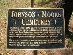 Moore - Johnson Cemetery