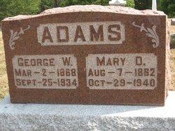 Mary D. <I>Gray</I> Adams