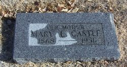 "Mary Lee ""Cassell"" <I>Speaks</I> Castle"