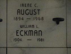 Irene C. <I>Eckman</I> August