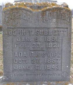 Ada G. <I>Baird</I> Sublett