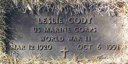 Leslie Cody