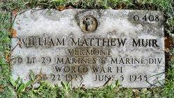 2LT William Matthew Muir