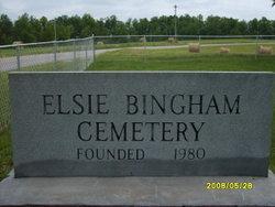Elsie Bingham Cemetery