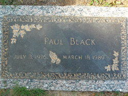 Paul Creed Black
