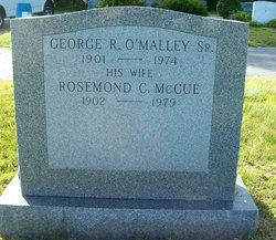 Rosemond C <I>McCue</I> O'Malley