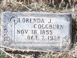 """Lorenda Jane """"Jennie"""" <I>Duke</I> Coggburn"""