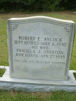 Pricilla Jane <I>Overton</I> Aycock