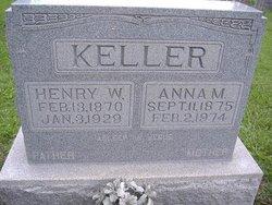 Anna M <I>Gayer</I> Keller