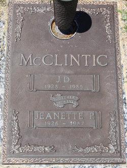 J. D. McClintic