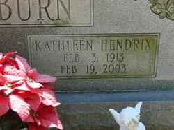 Kathleen <I>Hendrix</I> Blackburn