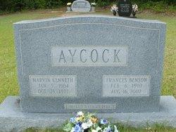 Frances <I>Benson</I> Aycock