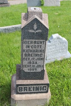 "Katherina ""Kate"" <I>Frisch</I> Breinig"