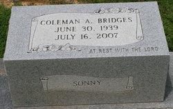 """Coleman A. """"Sonny"""" Bridges"""