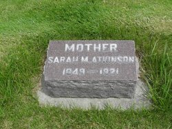 Sarah Margaret <I>Kirkwood</I> Atkinson