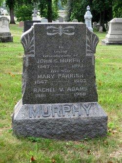 Rachel V <I>Murphy</I> Adams