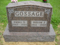 Emma Dora <I>Shuler</I> Gossage