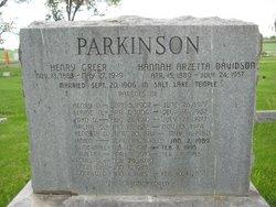 Helen <I>Parkinson</I> Anderson