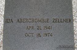 Ida <I>Abercrombie</I> Zellner
