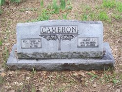 Rev Johnathon Calhoun Cameron