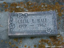 Cecil Elmer Hale