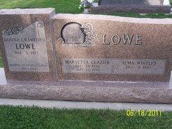 Marsetta <I>Glazier</I> Lowe