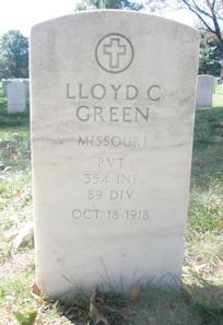 Pvt Lloyd Chandler Green