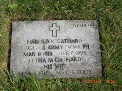 Harold R Gathard
