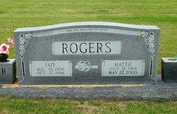 """Harold Lafayette """"Fait"""" Rogers"""